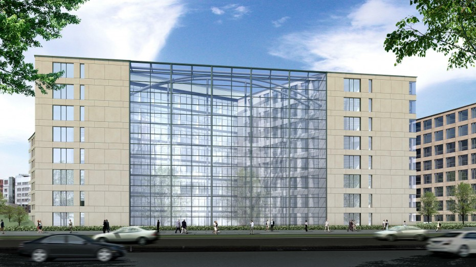 OASIS II - Das neue Bürogebäude in Stuttgart